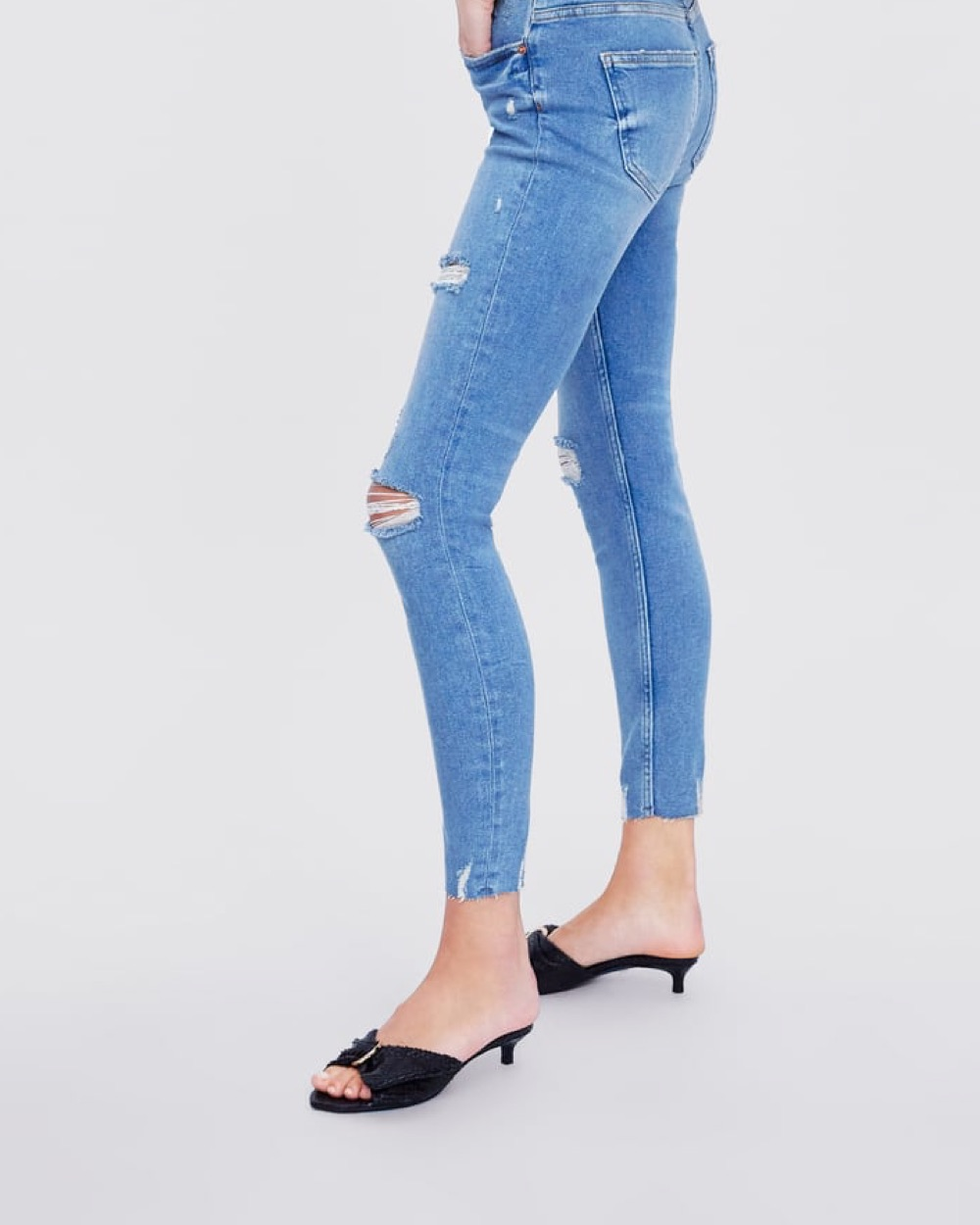 Ragged Jeans Pants